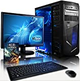 "VIBOX Centre Package 10 - 3.9GHz Multimedia, Desktop PC, Computer, Complete Full Package for the Home, Office or Family with WarThunder Game Bundle, 22"" Widescreen Monitor, Keyboard & Mouse, Neon Internal LED Fans PLUS a Lifetime Warranty Included* (New 3.7Ghz (3.9GHz Turbo) AMD A4 6300 Dual Core CPU Processor, Integrated Radeon HD 8370D Gaming Graphics Card Chip, 1TB SATA III Hard Drive, 8GB 1600MHz High Speed RAM Memory, Gamer Case, DVD-RW, No Operating System Included)"