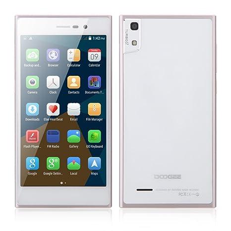 "DOOGEE TURBO2 DG900 Smart Phone Android 4.4 MT6592 Octa Core 5"" IPS Ecran Geste de Reconnaissance 2GB RAM 16GB ROM 8MP 18MP Dual Caméras"