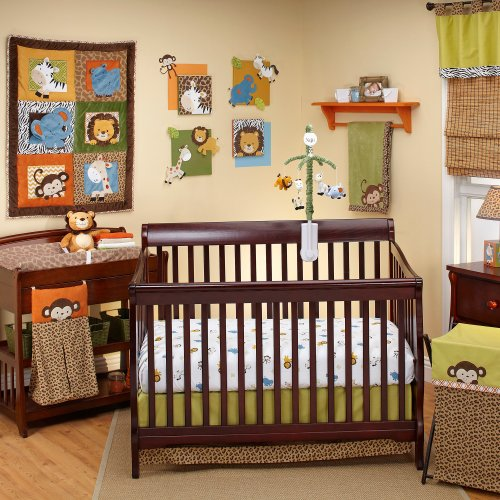 NoJo Crib Bedding Set, Zambia