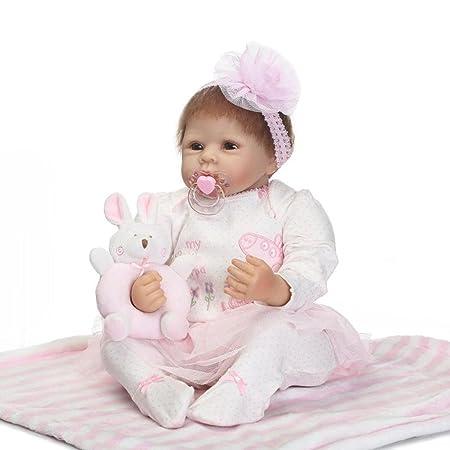 Terabithia 20 pouces Rare Alive Pretty comme une princesse Reborn bébé Fille Poupées Look Real