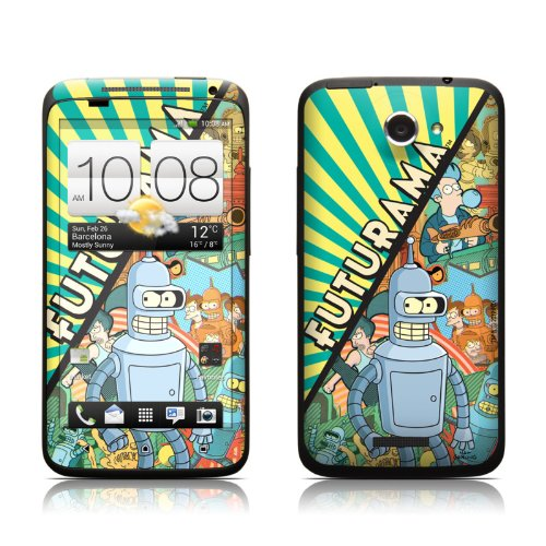 Bender Design Protective Skin Decal Sticker For Htc One X Cell Phone front-545739