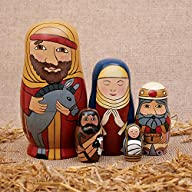 5pc Nesting Doll Holy Family -The Nat…