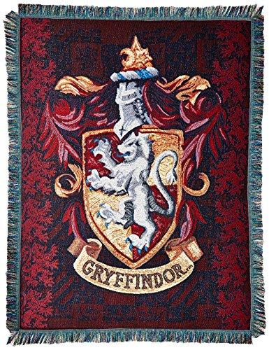 the-northwest-company-warner-bros-harry-potter-gryffindors-crest-tapestry-throw-48-by-60-inch