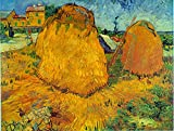The Museum Outlet - Haystacks - Canvas