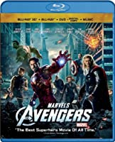 Marvel's The Avengers (Four-Disc Combo: Blu-ray 3D/Blu-ray/DVD + Digital Copy + Digital Music Download) by Walt Disney Home Entertainment