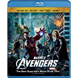 Marvel's The Avengers (Four-Disc Combo: Blu-ray 3D/Blu-ray/DVD + Digital Copy + Digital Music Download) ~ Robert Downey Jr.