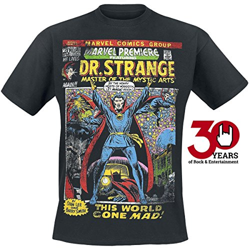 Doctor Strange Mystic Arts Cover T-Shirt nero S