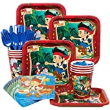 Jake and the Neverland Pirates Party Supplies Standard Kit Serves 8 Guests