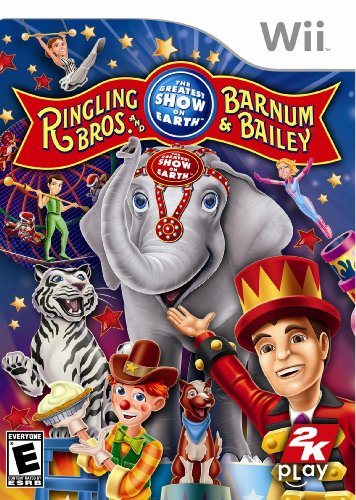 Ringling Bros. And Barnum & Bailey Circus - Nintendo Wii back-920432