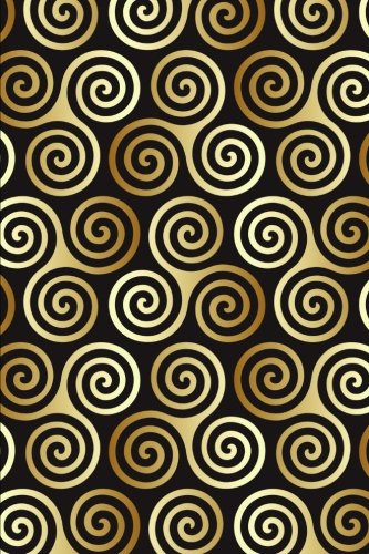 The Celtic Spiral Pattern Journal: 150 page lined notebook/diary