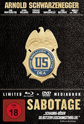 Sabotage - Mediabook [Blu-ray] [Limited Edition]