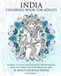 India Coloring Book For Adults: An Ad...