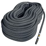 Singing Rock R44 NFPA Static Rope (Color: Black, Tamaño: 10.5-mm x 200-Feet)