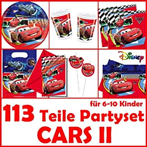 Dekospass cars 2 kit de 113 piezas para cumplea os for Diseno piezas infantiles