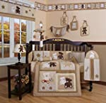 Boutique Baby Teddy Bear 13PCS CRIB B...
