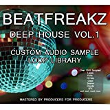 Audio Sample Loop Library Digital Download - Deep House Vol 1 by Beatfreaks
