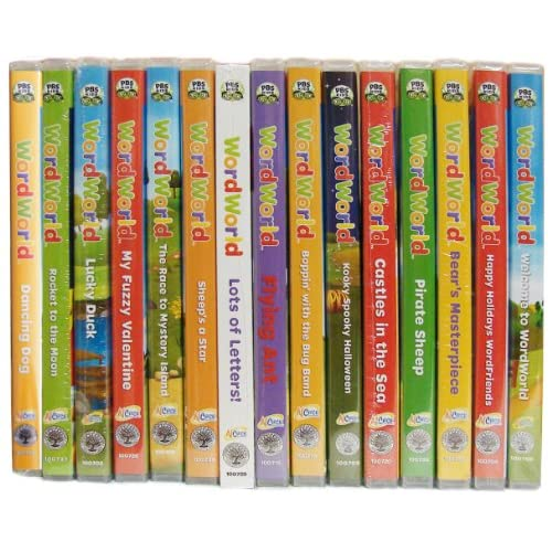 Amazon.com: Complete Word World 16 Dvd Collection (Pbs Educational