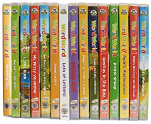 Complete Word World 16 Dvd Collection (Pbs Educational Wordworld)