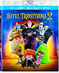 Hotel Transylvania 2 (3D Blu-ray + Blu-ray + DVD + UltraViolet)