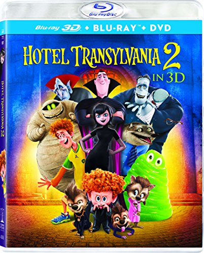 Blu-ray 3D : Hotel Transylvania 2 (With DVD, Ultraviolet Digital Copy, 3 Pack, Dubbed, )
