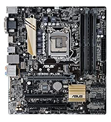 Asus B150M-Plus - 6th Generation MotherBoard (LGA1151, 64GB, USB Type-C, DDR4 2133 MHz, MicroATX)