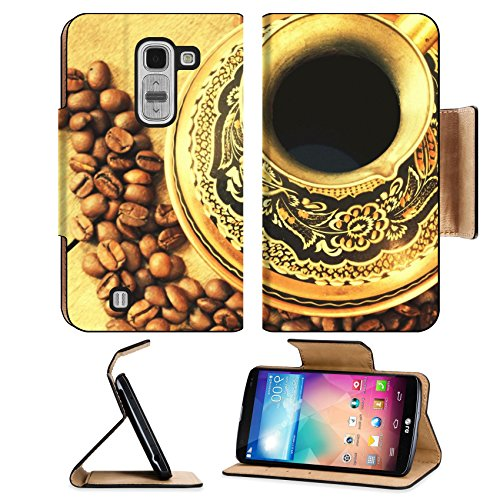 Coffee Bean Ornate Floral Decoration Lg G Pro 2 Flip Case Stand Magnetic Cover Open Ports Customized Made To Order Support Ready Premium Deluxe Pu Leather Msd Cover Professional Cases Accessories Graphic Background Covers Designed Model Folio Sleeve Hd Te