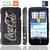 htc EVO 3D ケース shiny decoration Case (au ISW12HT対応)【ハンドメイド/デコ電】【Coca Cola BLACK(黒)】