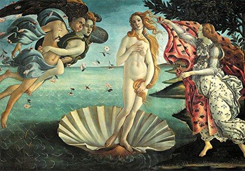 LA NASCITA DI VENERE Botticelli - 70x100 cm - Poster Artistico - Falso d'autore