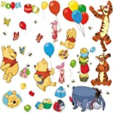 RoomMates RMK1498SCS Pooh and Friends Peel Stick Wall Decal