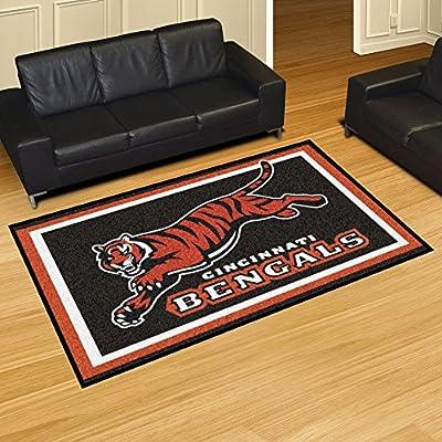 """Cincinnati Bengals Rug 5x8 60""""x92"""""""