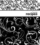 BrownLow Swirls Recipe Binder Album in Black / White Swirls