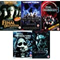 Final Destination Complete All Movies Film Pentology Collection DVD [5 Discs] Part 1, 2, 3, 4 + 5 + Extras