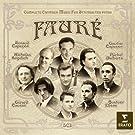 Faur� : Int�grale de la Musique de Chambre pour instruments � cordes et piano (5 CD)