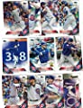 Chicago Cubs / Complete 2016 Topps Series 1 Baseball Team Set! With Kris Bryant!