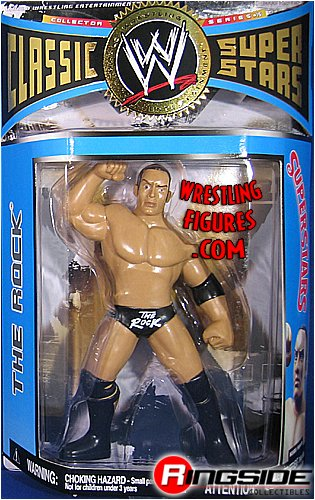 ROCK - CLASSIC SUPERSTARS 17 WWE TOY WRESTLING ACTION FIGURE