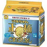 マルちゃん正麺 ごまだれ冷し 5P(120g×5P) 600g×6袋