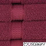 Müskaan Duschtuch 70x140cm Farbe bordeaux