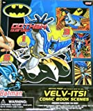 Batman Gotham Guardian VELV-ITS Comic Book Scenes