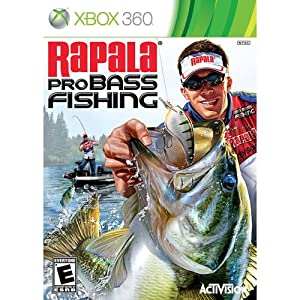 Rapala pro bass fishing xbox 360 pc for Xbox one hunting and fishing games