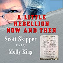 A Little Rebellion Now and Then Audiobook by Scott Skipper Narrated by Molly King