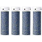 4 x Super Coarse Micro Mineral Replacement Rollers Compatible with Emjoi Micro Pedi
