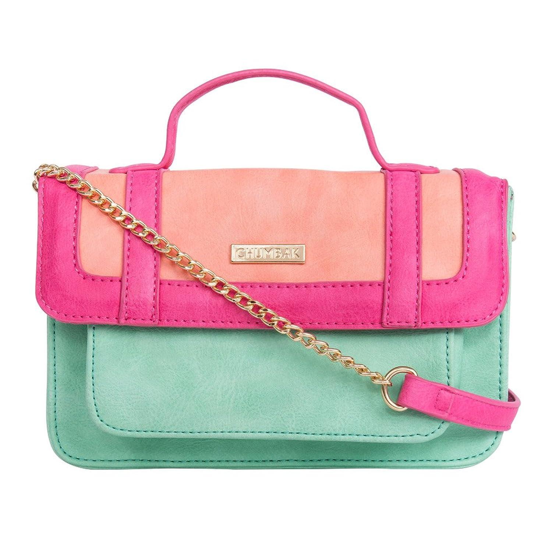 Chumbak Colour Splash Satchel Bag