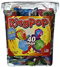 Ring Pop, Jewel Shaped Hard Candy Var…