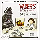 Vader's Little Princess 2015 Wall Calendar (Star Wars)