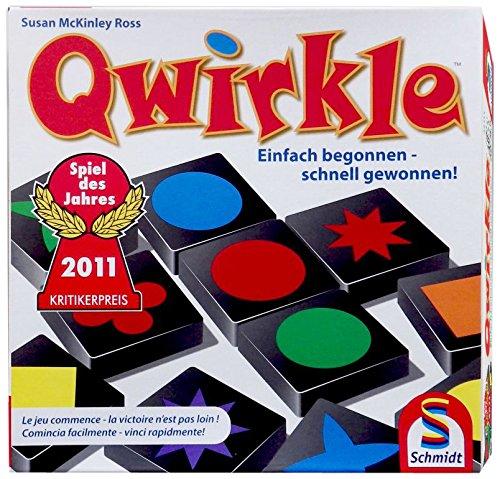 Schmidt spiele 49014 qwirkle gioco da tavolo gioco - Domino gioco da tavolo ...