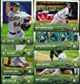 Oakland Athletics 2015 Topps MLB Baseball Regular Issue Complete Mint 23 Card Team Set with Scott Kazmir, Sonny Gray Plus