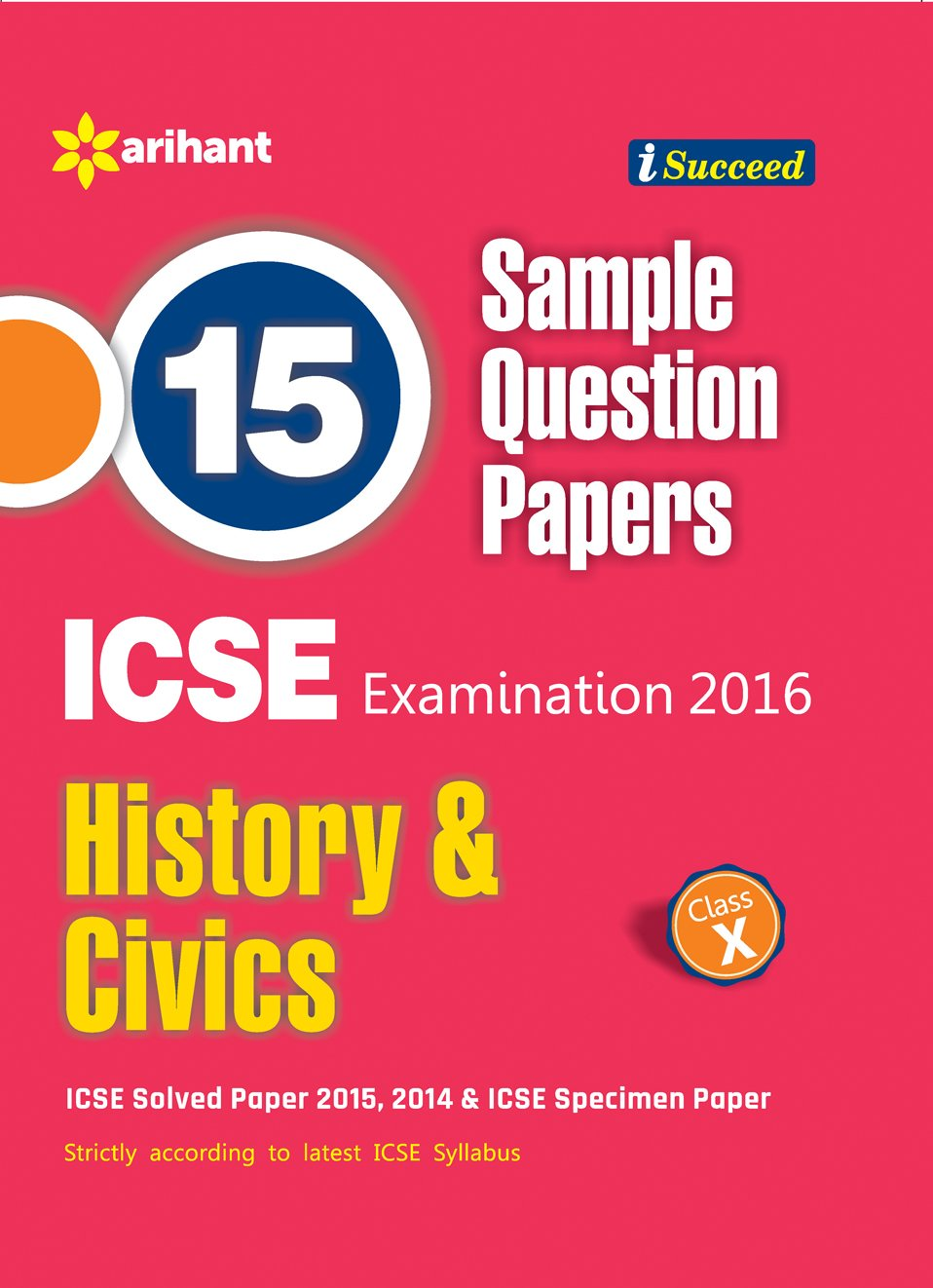 in buy icse sample question papers history civics in buy icse 15 sample question papers history civics class 10th old edition book online at low prices in icse 15 sample question papers