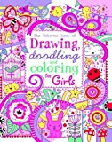 img - for By Lucy Bowman The Usborne Book of Drawing, Doodling and Coloring for Girls book / textbook / text book