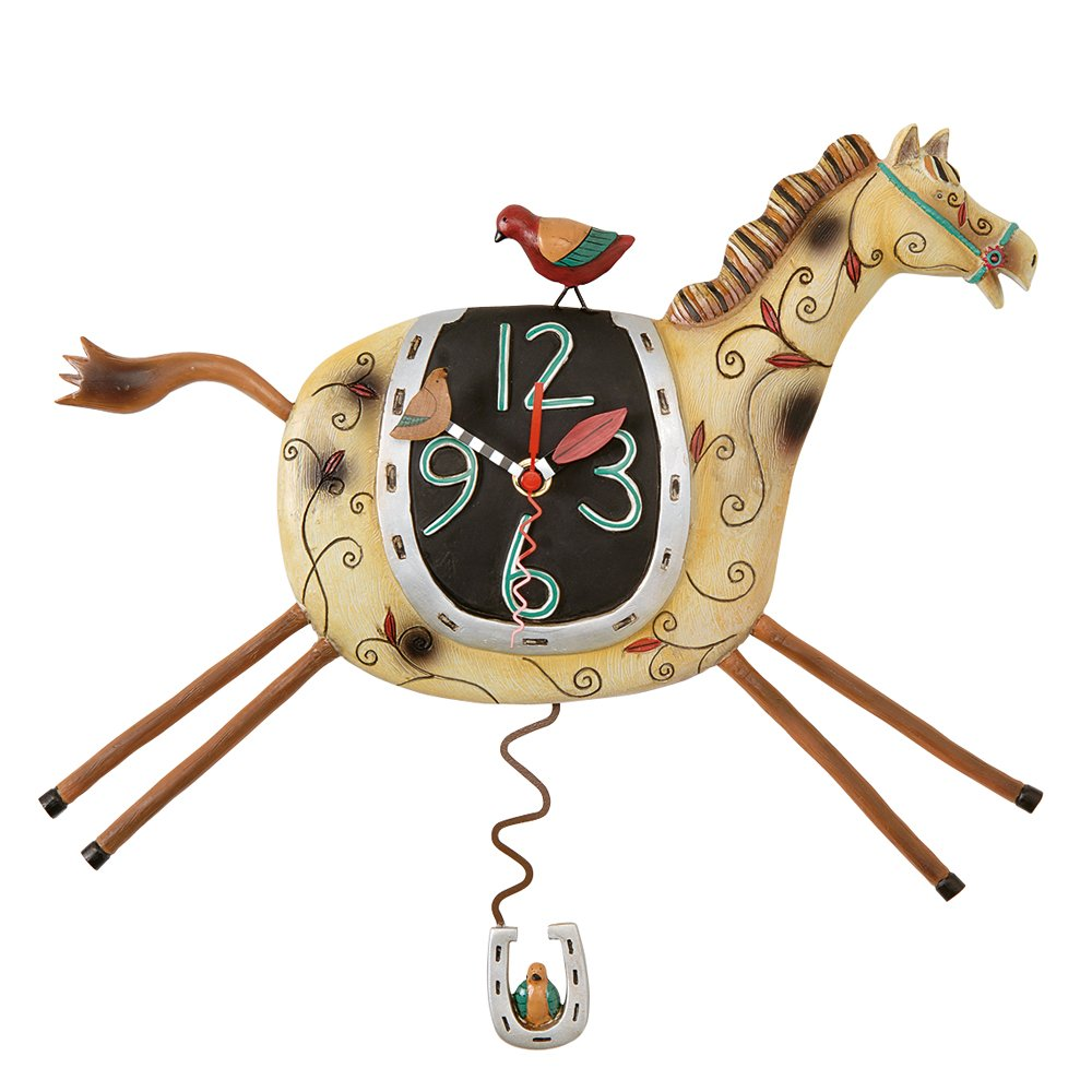 Funny allen design wall clock for clock lovers wrap text around image amipublicfo Gallery