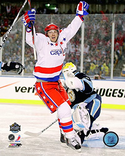Eric Fehr Washington Capitals NHL Action Photo (Size: 8 x 10) сумка на ремне nhl capitals цвет синий 3 5 л 58015